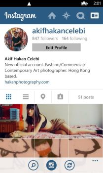 New Instagram Account @akifhakancelebi by hakanphotography