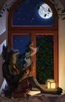 The Moon and I by KatieHofgard