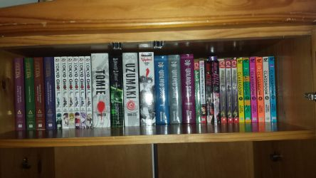My Manga Collection 2 (As of Feb. 24, 2018) by GodofDarness18