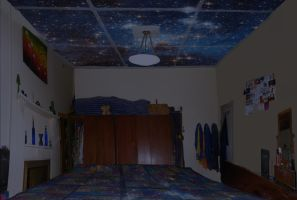 The Stars at Night OR My Room With A View by TrishRDesigns