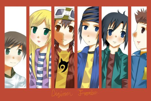 Digimon Frontier by Whitewolfgirl