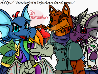 NeoFamily *Neopets* by SinaiDraw