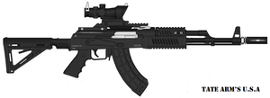 Tate Arm's AKM by GeneralTate