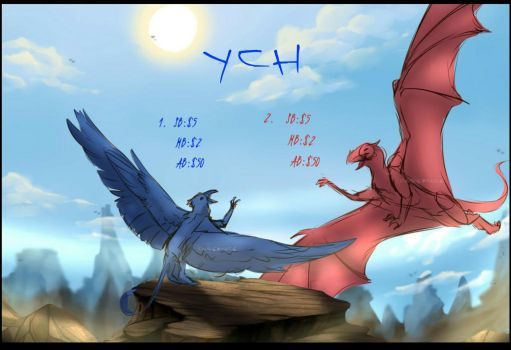 Ych - SB: $5 (open) by Dagernice