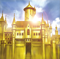 Golden Castle of Stromberg by Yugi-Master