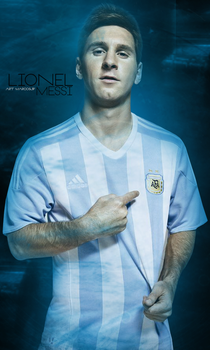 Lionel Messi Argentina   Wallpaper by MarcosJP