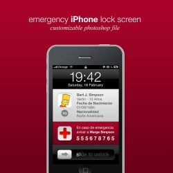 Emergency iPhone Wallpaper by DannySP