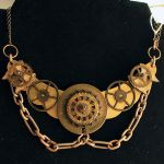 Gears Bib Necklace by asunder