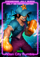 N3ON CITY RUMBLE Beatman by Darkdux