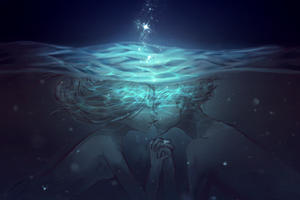 Kiss Me Under The Water by slyvanie