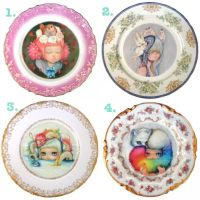 Plates by camilladerrico