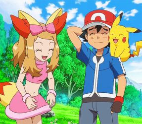 Pokemon XY: Fenniken Costumed Serena Gif by PhoenyxuzPrimax
