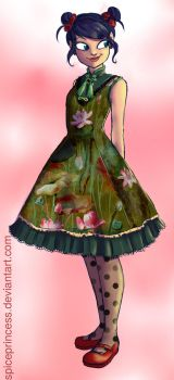 Marinetteweek - Fashion - Qi Lolita by SpicePrincess