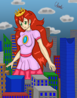 Princess Toadstool: In the Wrong Part of Town by whitestormclouds