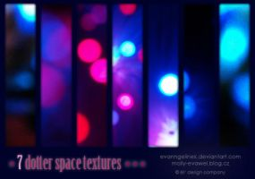7 Dotter Space Textures by evanngelinek