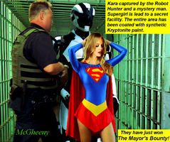 Supergirl in The Mayor's Bounty by McGheeny