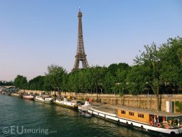 eiffel tower by EUtouring