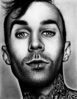 Travis Barker by HarryMichael