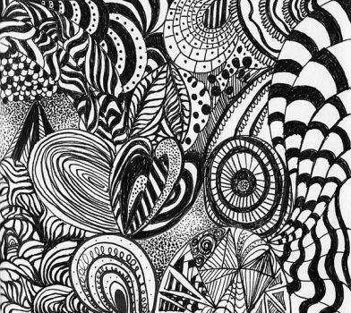 Zentangle1 by savajam