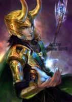 Marvel : Loki by Beriuos
