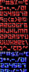 TheDraw TDF ANSI Font - Font 37 by roy-sac