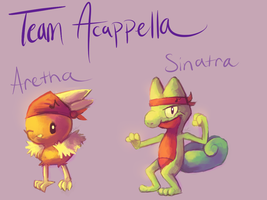 Team Acappella - Yay or Nay? by MusicalCombusken