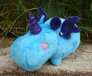 Deluxe Blue Magic Hippo by Pwyllo