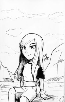 Inktober #5 Terra by Tri-shield