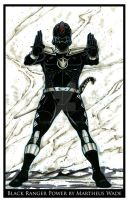 Black Ranger Power by martheus