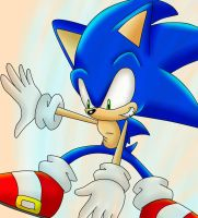 Gift: Sonic Wind by SonicForTheWin2