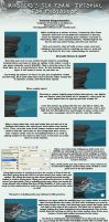 SeaFoam Tutorial for Photoshop by mindsend
