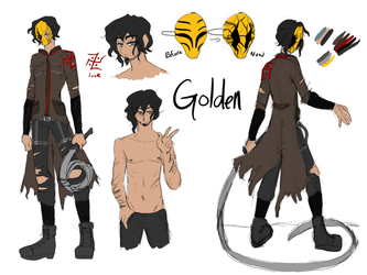 New character  concept -golden by AK-47x