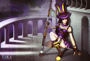 Caitlyn - League Of Legends by YarickArt