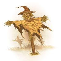 Drawlloween 2015 - Day 29 - Scarecrow by scumbugg