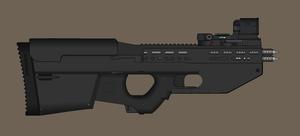 PA-2000 Particle Accelerator Weapon by madmonty98