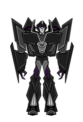 Stealth Megatron by SRGDuck