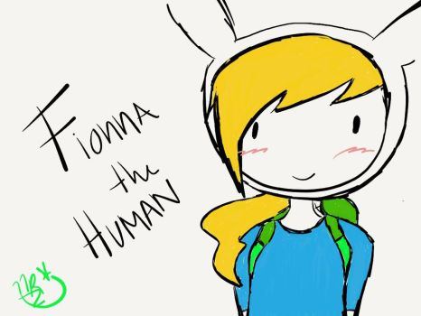 Fionna the Human by nikkistar97