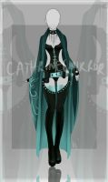 (CLOSED) Adopt Auction - Outfit 8 by cathrine6mirror