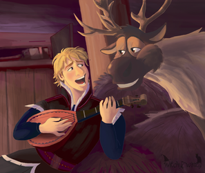 Kristoff and Sven- Reindeer's are better by cjtwins