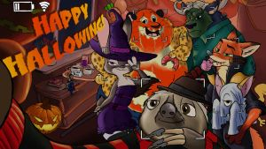 Happy Walloween! by MachineWithSoul