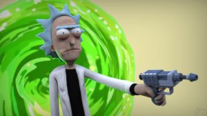 Evil Rick by juzmental