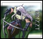 Running Drizzt by Belegilgalad