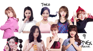 TWICE PNG Pack {Likey #2 Moving Picture Ver.} by soshistars