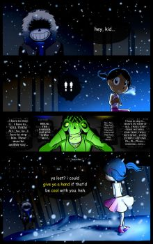 Reminiscence: Undertale Fan Comic Pg. 36 by Smudgeandfrank