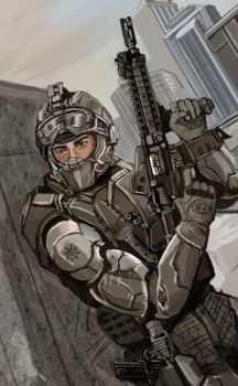 Gunner by TheDrowningEarth