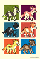 Pup Adopts by Magicpawed