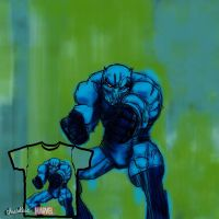 Black Panther-blue Submission by RSH26oct88