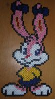 Babs Bunny from Looney Toons - Perler or Hama by Chrisbeeblack