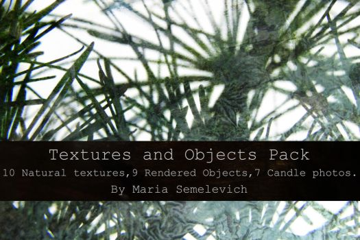Textures and Objects Pack by Maria Semelevich by MariaSemelevich