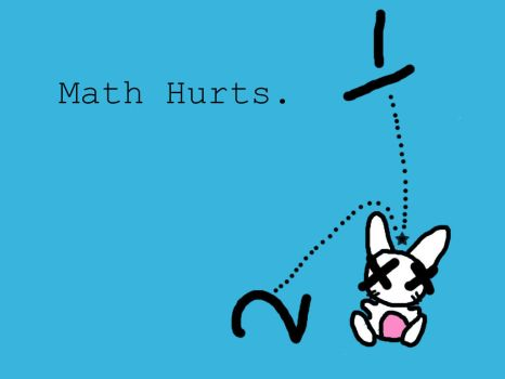 Math Hurts. by ouchiez